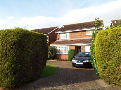 4 Bedrooms Detached House for sale in Caves Lane, Bedford, Bedfordshire