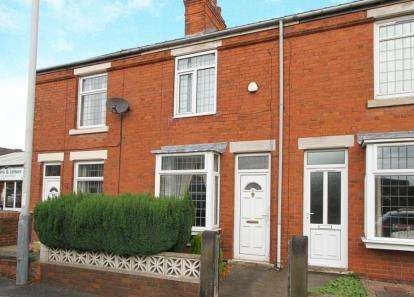 2 Bedrooms Terraced House for sale in Old Road, Chesterfield, Derbyshire