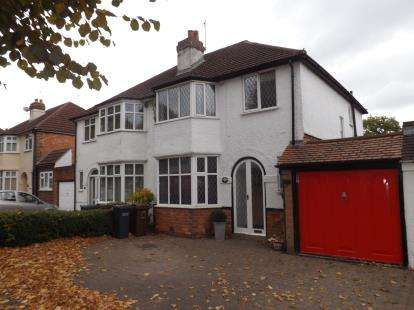 3 Bedrooms Semi Detached House for sale in Stanway Road, Shirley, Solihull