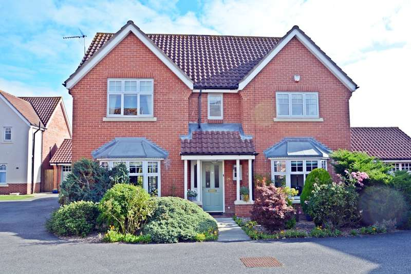 4 Bedrooms Detached House for sale in Century Road, Eye