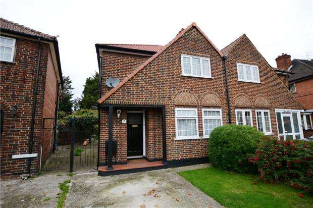3 Bedrooms Semi Detached House for sale in Swan Road, West Drayton
