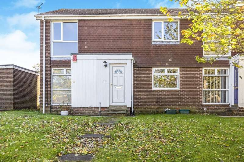 2 Bedrooms Flat for sale in Wensley Close, Ouston, Chester Le Street, DH2