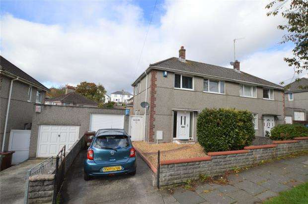 3 Bedrooms Semi Detached House for sale in Segrave Road, Plymouth, Devon