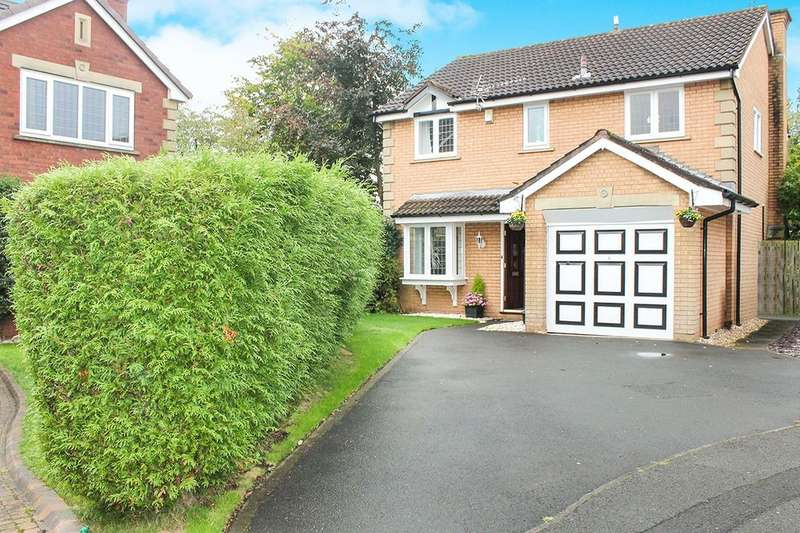 4 Bedrooms Detached House for sale in Wyville Close, Hazel Grove, Stockport, SK7