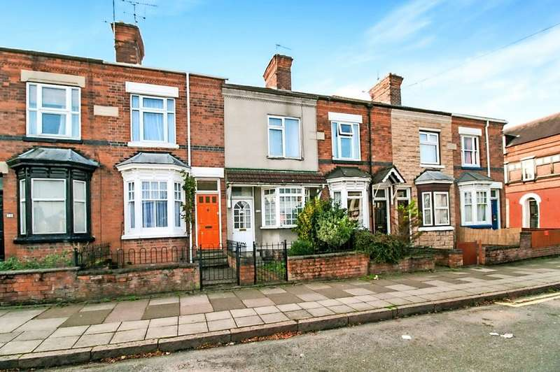 2 Bedrooms Terraced House for sale in Knighton Fields Road East, Leicester, LE2 6DP