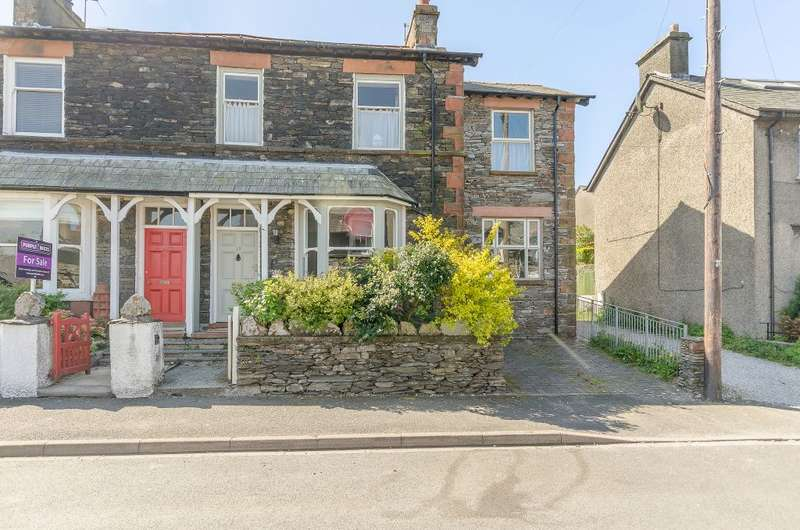4 Bedrooms Semi Detached House for sale in Thornthwaite Road, Windermere, Cumbria, LA23 2DN