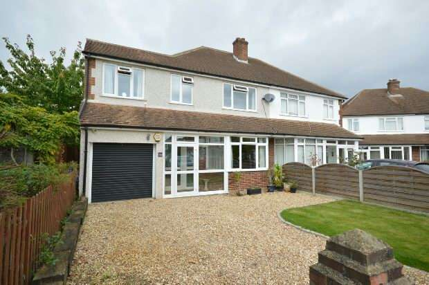 5 Bedrooms Semi Detached House for sale in Cumberland Drive, Chessington