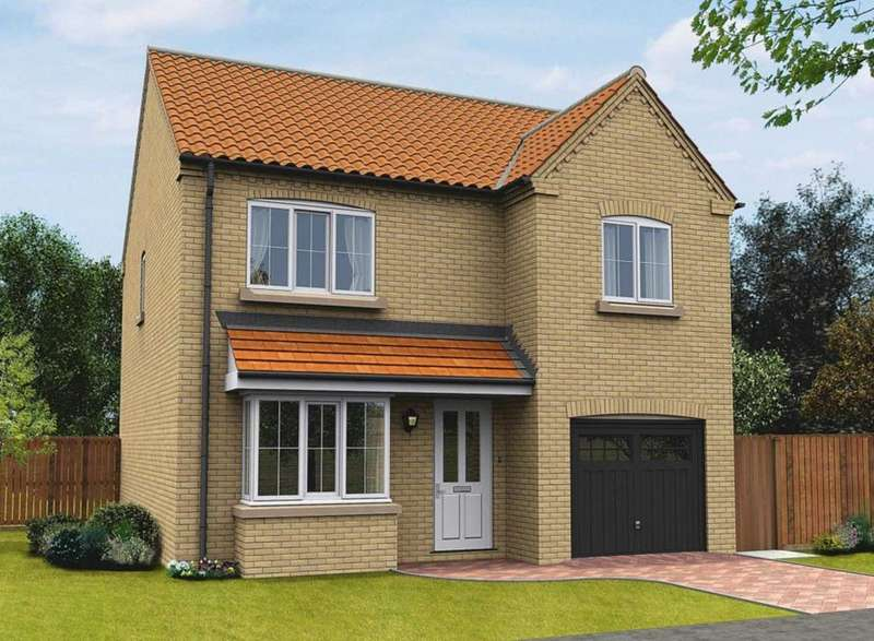 4 Bedrooms Detached House for sale in Plot 56, The Langdale, The Swale, Corringham Road DN21