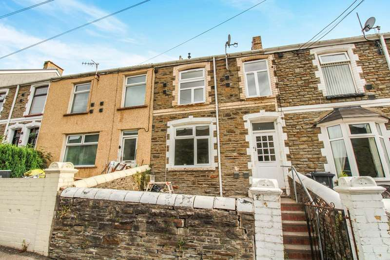 3 Bedrooms Terraced House for sale in Station Terrace, Cwm, Ebbw Vale, NP23
