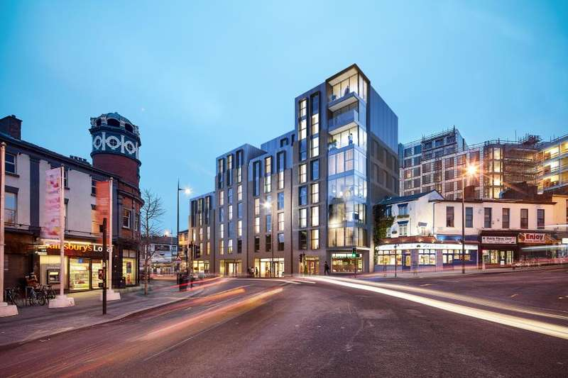 2 Bedrooms Apartment Flat for sale in Ropemaker Place, Renshaw St, L1