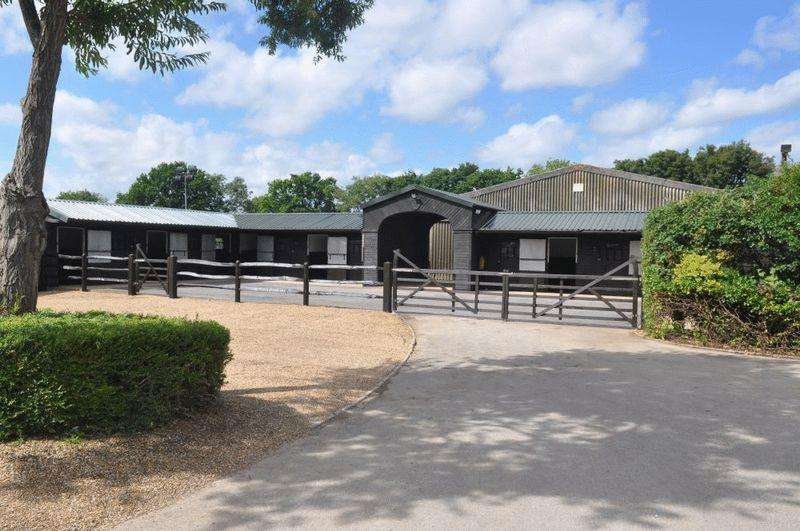 2 Bedrooms Equestrian Facility Character Property for sale in Strood Green, Billingshurst