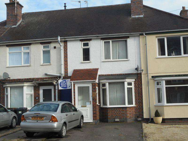 2 Bedrooms Terraced House for sale in Heath End Road, Nuneaton