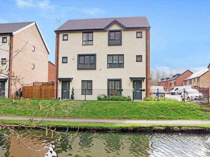4 Bedrooms Semi Detached House for sale in Medlock Close, Runcorn