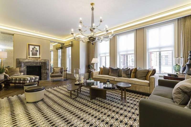 2 Bedrooms Flat for sale in Mount Street, Mayfair, London, W1K