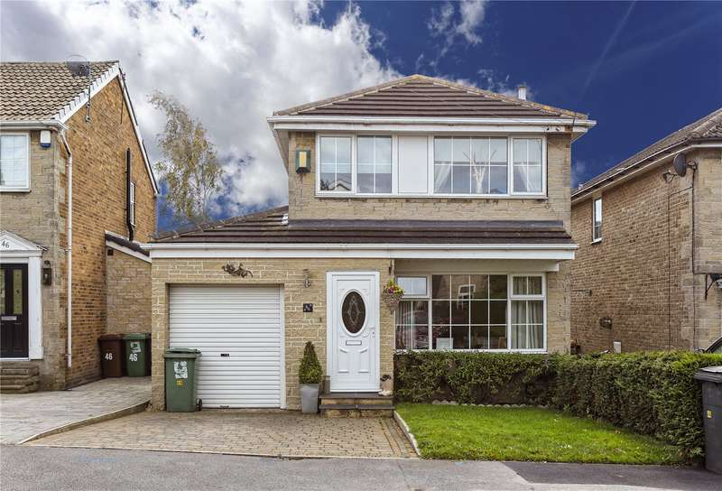 3 Bedrooms Detached House for sale in Clover Court, Calverley, Pudsey, West Yorkshire, LS28