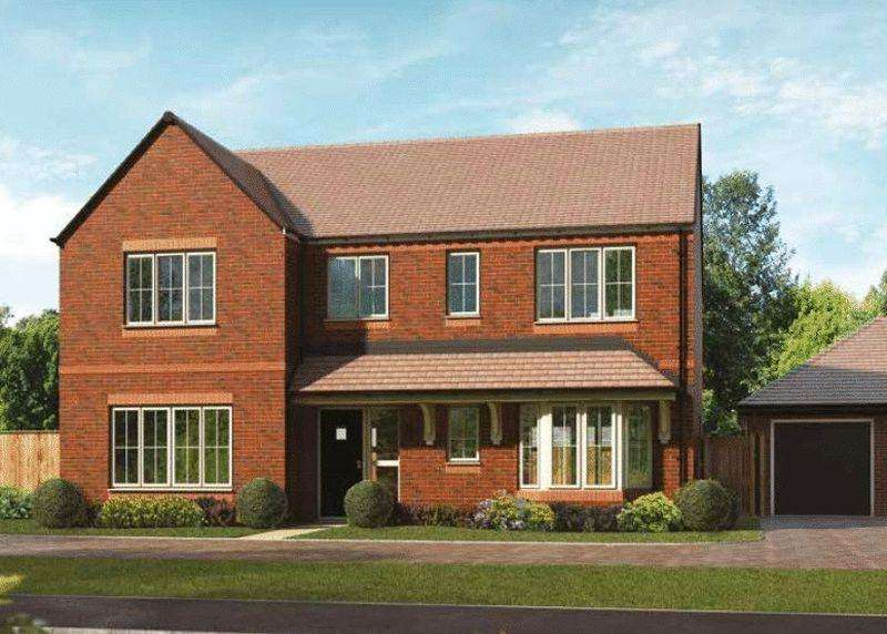 4 Bedrooms Detached House for sale in Plot 45, The Osmore, Oakwood Gate, Bampton