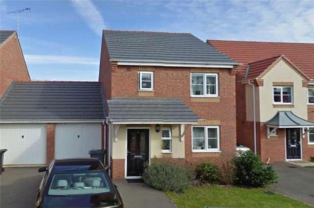 3 Bedrooms Link Detached House for sale in Honeysuckle Close, Eliot Gardens, Bedworth, Warwickshire