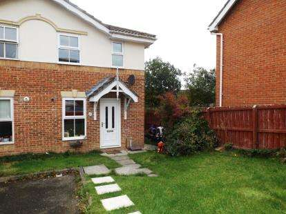 2 Bedrooms Link Detached House for sale in Epsom Court, Newton Aycliffe, Durham