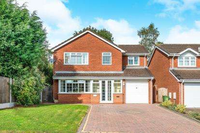 4 Bedrooms Detached House for sale in Montville Drive, Castle House Gardens, Stafford, Staffordshire
