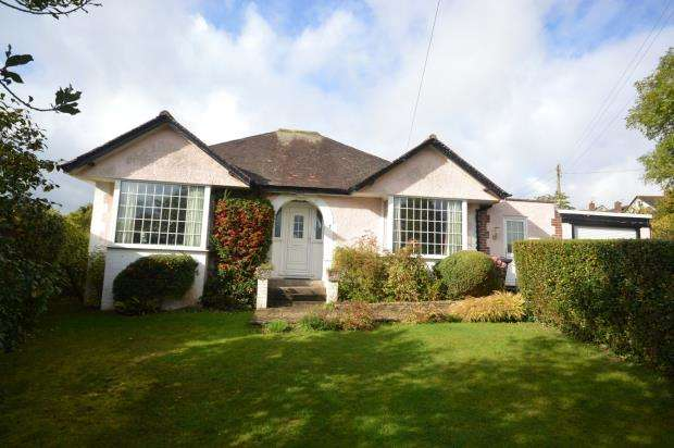 3 Bedrooms Detached Bungalow for sale in Newlands Road, Sidmouth, Devon