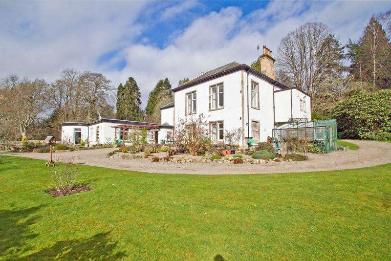 5 Bedrooms Detached House for sale in Old Ballechin, Ballinluig, Strathtay, Pitlochry, Perthshire