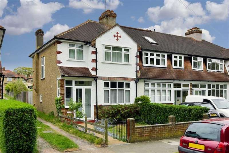 3 Bedrooms End Of Terrace House for sale in Green Lanes, West Ewell, Surrey