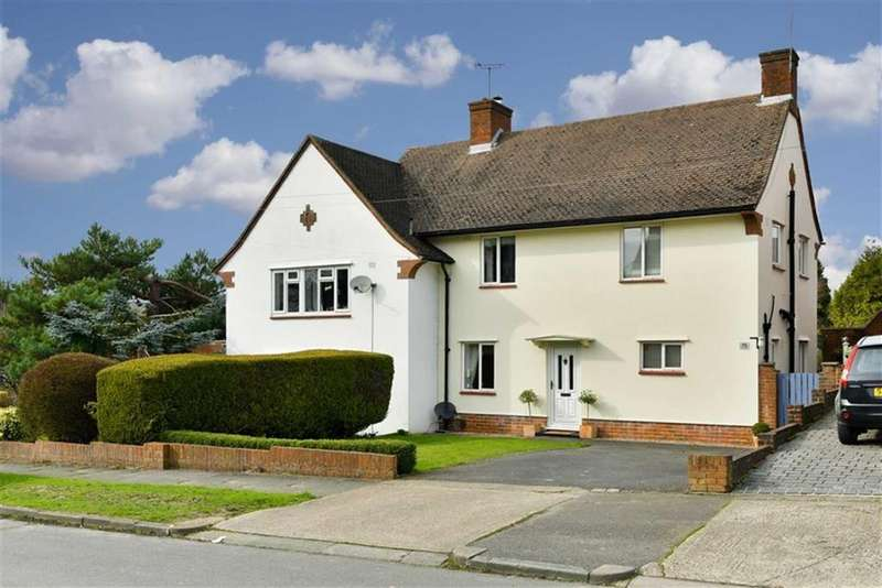 3 Bedrooms Semi Detached House for sale in Upland Way, Epsom Downs, Surrey