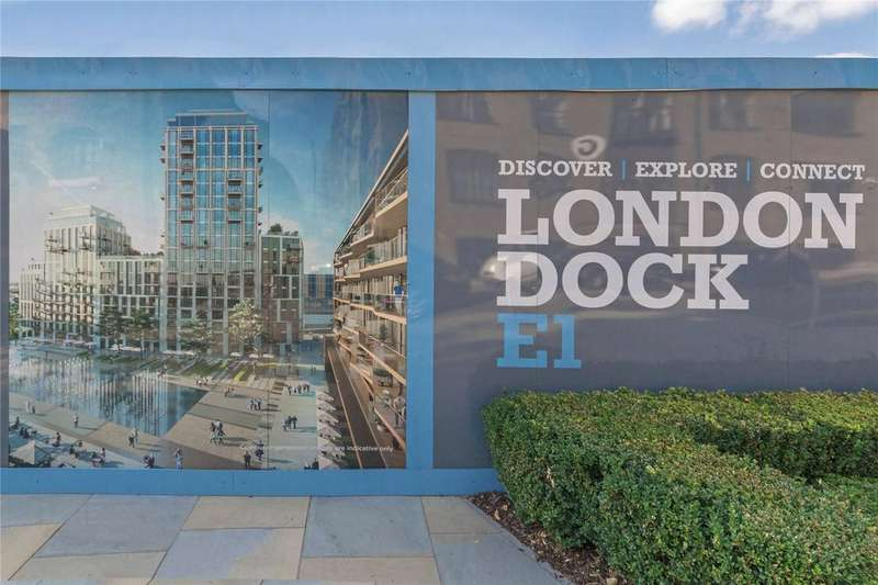 2 Bedrooms Flat for sale in London Dock, Vaughan Way, Wapping, London