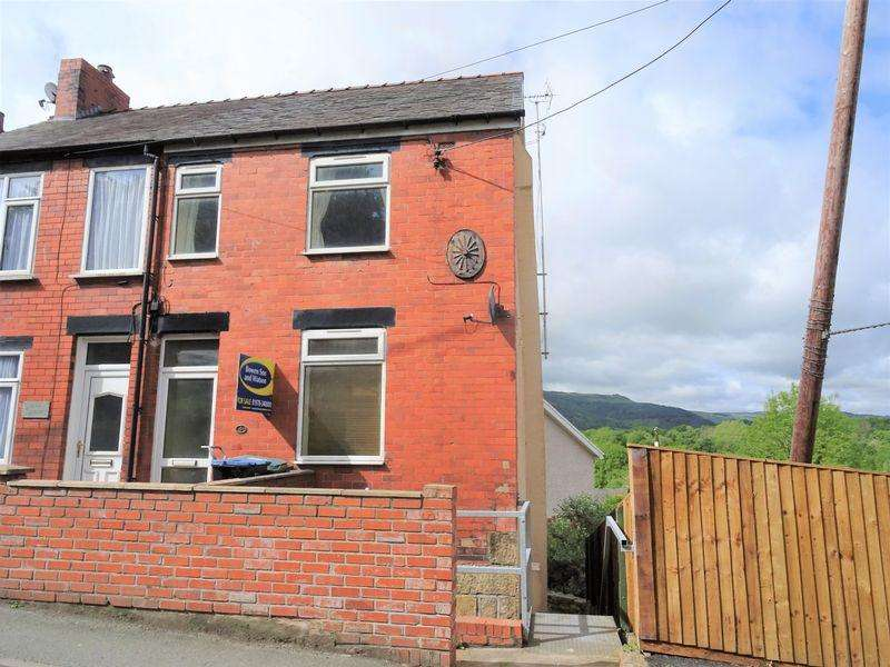3 Bedrooms End Of Terrace House for sale in Queen Street, Cefn Mawr