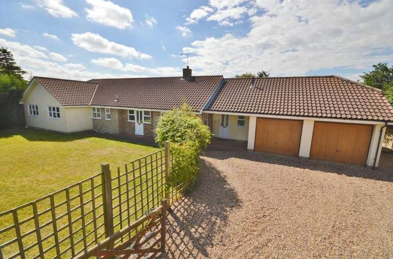 4 Bedrooms Detached Bungalow for sale in The Drift, East Bergholt