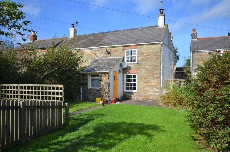 2 Bedrooms End Of Terrace House for sale in Goonbell, St Agnes, Cornwall