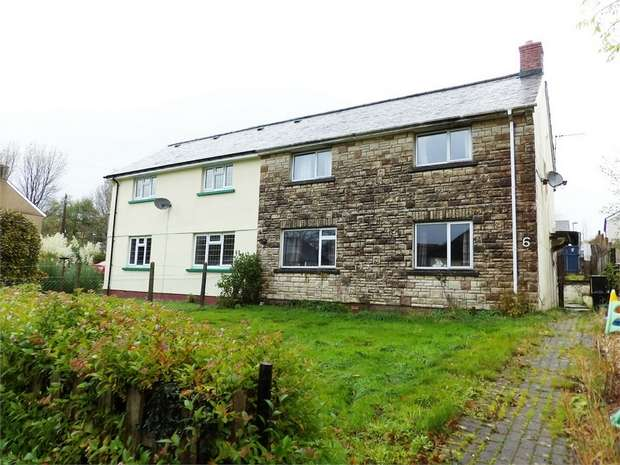 3 Bedrooms Semi Detached House for sale in Berthllwyd, Llanwrtyd Wells, Powys