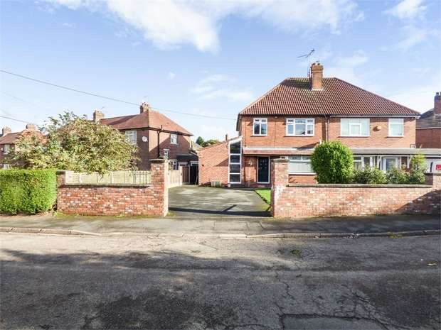 3 Bedrooms Semi Detached House for sale in Meadow Croft, Alsager, Stoke-on-Trent, Cheshire