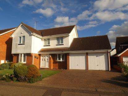 4 Bedrooms Detached House for sale in The Drive, Peterborough, Cambs