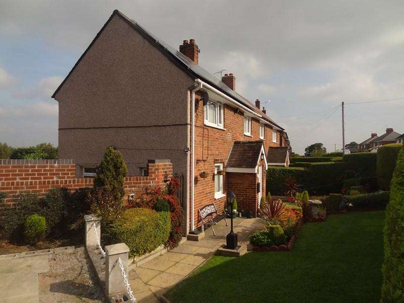 3 Bedrooms End Of Terrace House for sale in Heol Celyn, Coedpoeth, LL11 3HP
