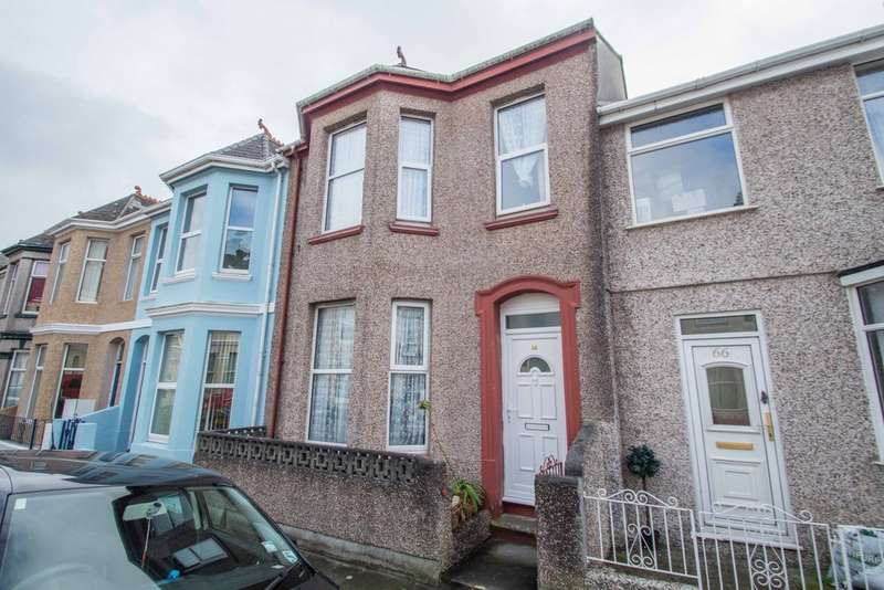 3 Bedrooms Terraced House for sale in Prince Rock, Plymouth