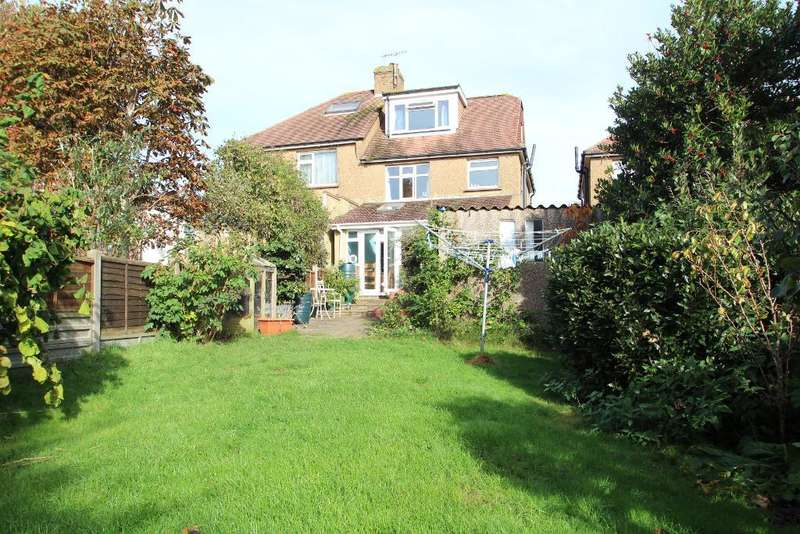4 Bedrooms Semi Detached House for sale in Sharpthorne Crescent, Portslade, BN41 2DP