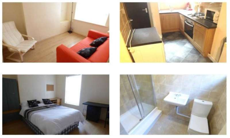 3 Bedrooms House Share for rent in Teck Road, Liverpool