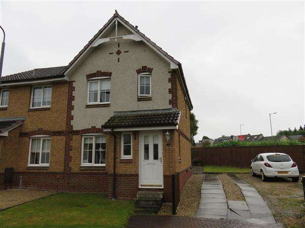3 Bedrooms Semi Detached House for sale in Ashbank Crescent, Airdrie