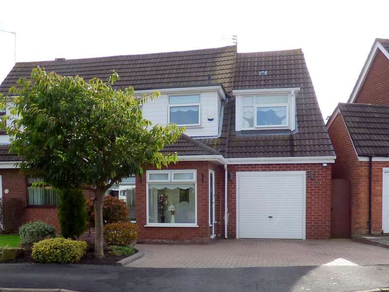 4 Bedrooms Semi Detached House for sale in Mellor Close, Tarbock Green, Liverpool