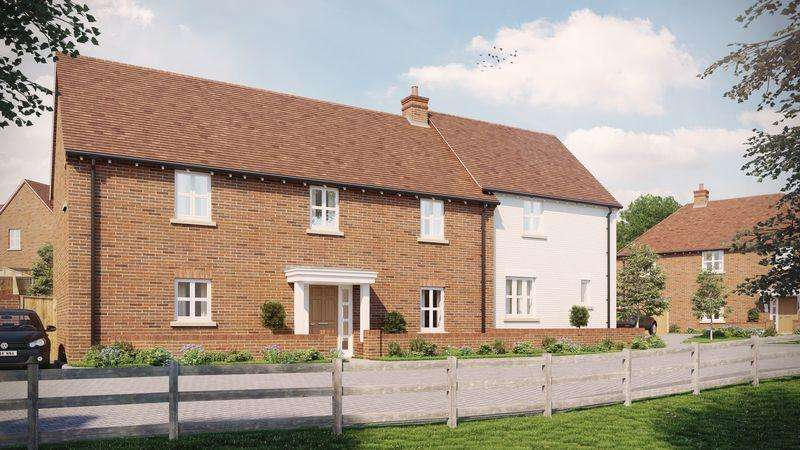 4 Bedrooms Semi Detached House for sale in Millers Brook, SHEET, PETERSFIELD, Hampshire, GU32