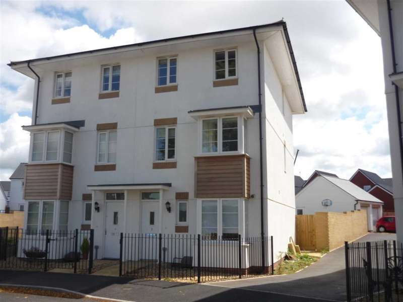 4 Bedrooms Semi Detached House for sale in Liberty Way, Exeter
