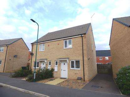 2 Bedrooms Semi Detached House for sale in Jupiter Avenue, Cardea, Peterborough, Cambridgeshire