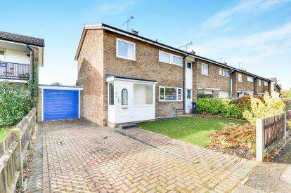 3 Bedrooms End Of Terrace House for sale in Manor View, Stevenage, Hertfordshire, England