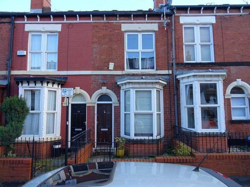 3 Bedrooms Terraced House for sale in 81 Sharrow Street Sharrow Sheffield S11 8BZ