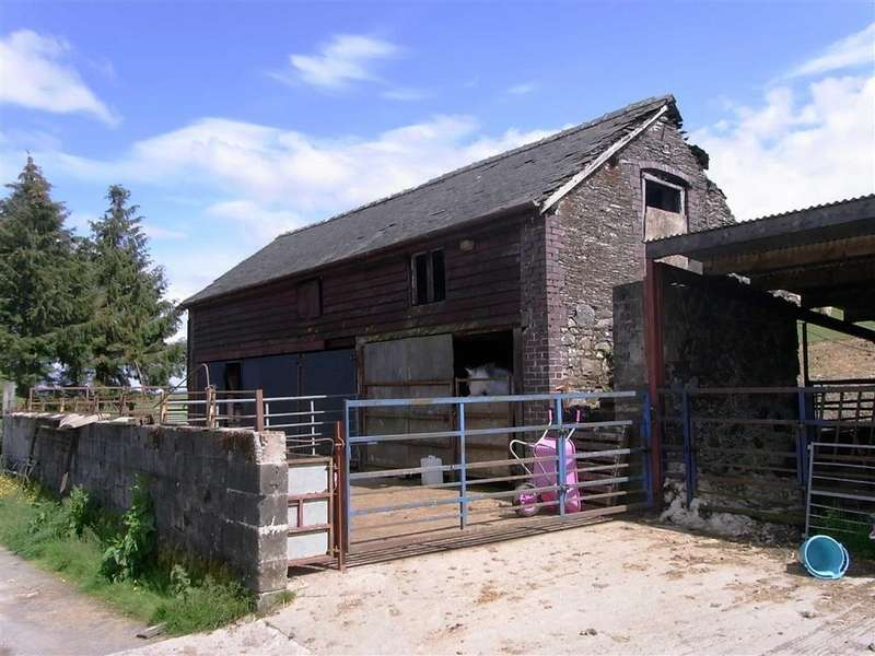 2 Bedrooms Barn Conversion Character Property for sale in Barn At Bidffald, Y Fan, Nr Llanidloes, Powys, SY18