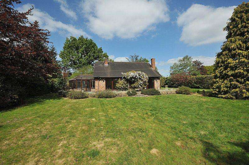 3 Bedrooms Detached House for sale in Plumley Moor Road, Lower Peover