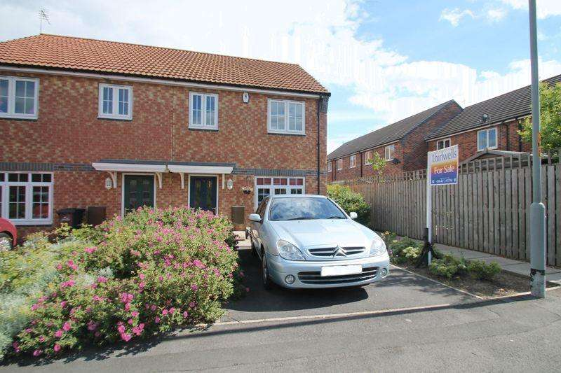 2 Bedrooms Semi Detached House for sale in Aidan Court, Middlesbrough