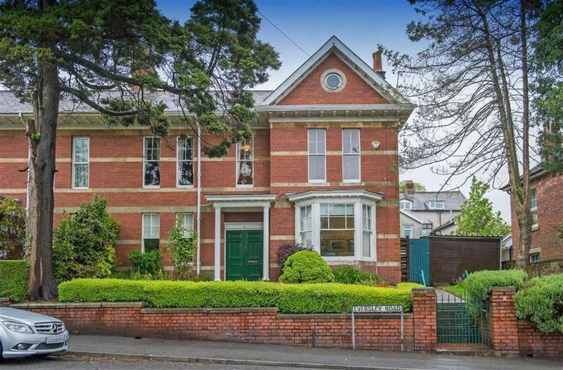 4 Bedrooms Semi Detached House for sale in Eversley Road, Swansea, SA2