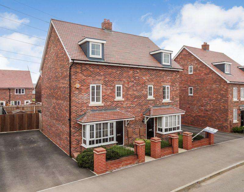 4 Bedrooms Semi Detached House for sale in Gold Furlong, Marston Moretaine